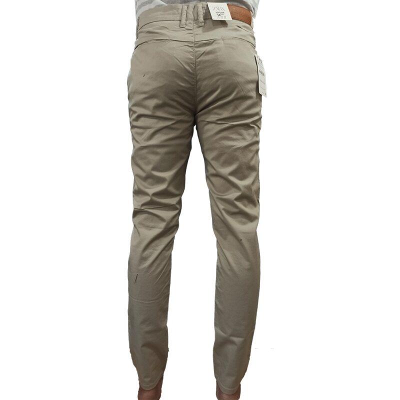 Zara Man Off White Cotton Pant