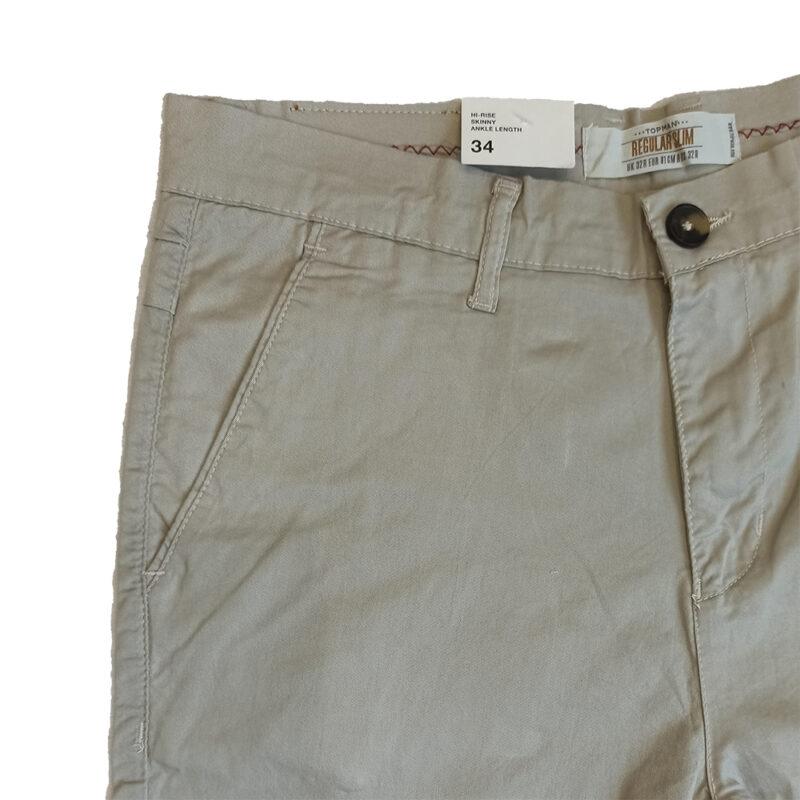 Zara Man Off White Dress Pants