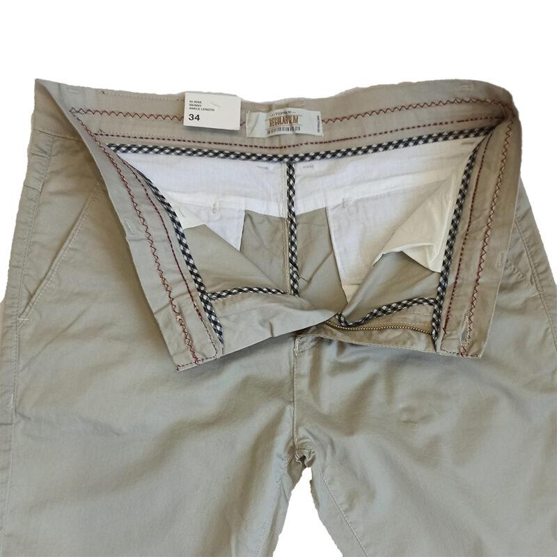 Zara Skinny Fit Off White Dress Pants (2)