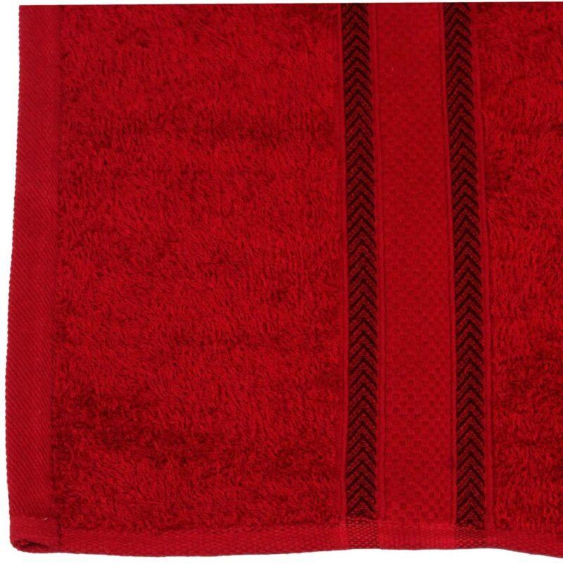 Wine Red Bath Towel
